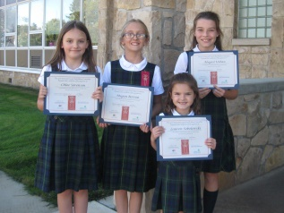 St. Peter Students Honored at Red Ribbon Rally